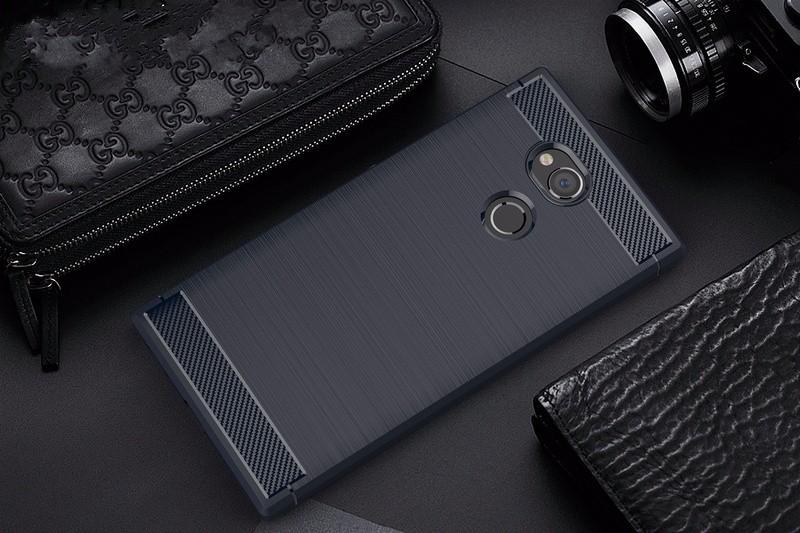 все цены на WIERSS Темно-синий для Sony Xperia XA2 Ultra 6 &quot онлайн