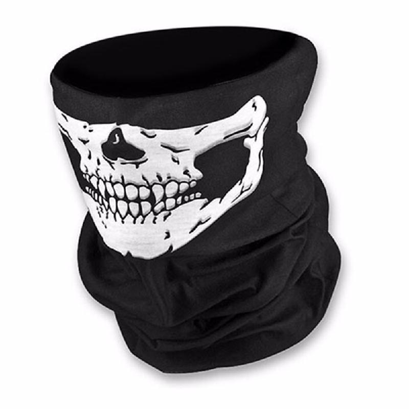 meterk White защитная маска маска бандана 2017 лето череп оголовье магия бесшовные бандана