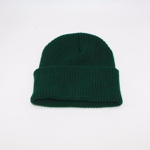 Мужчины и женщины вязать шляпу oye Зеленый фото