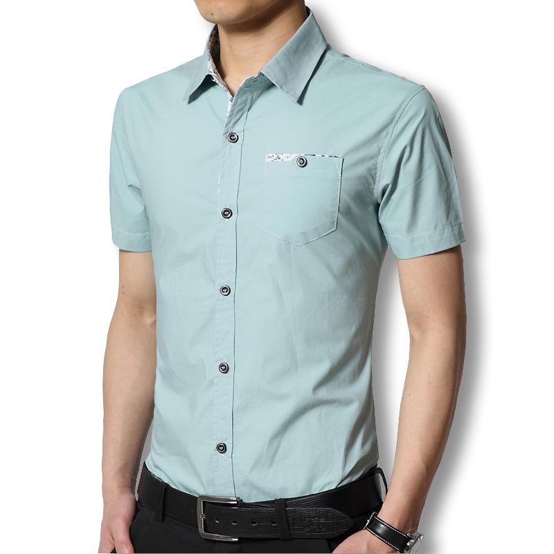 SRLD Светло-зеленый Номер XL рубашки