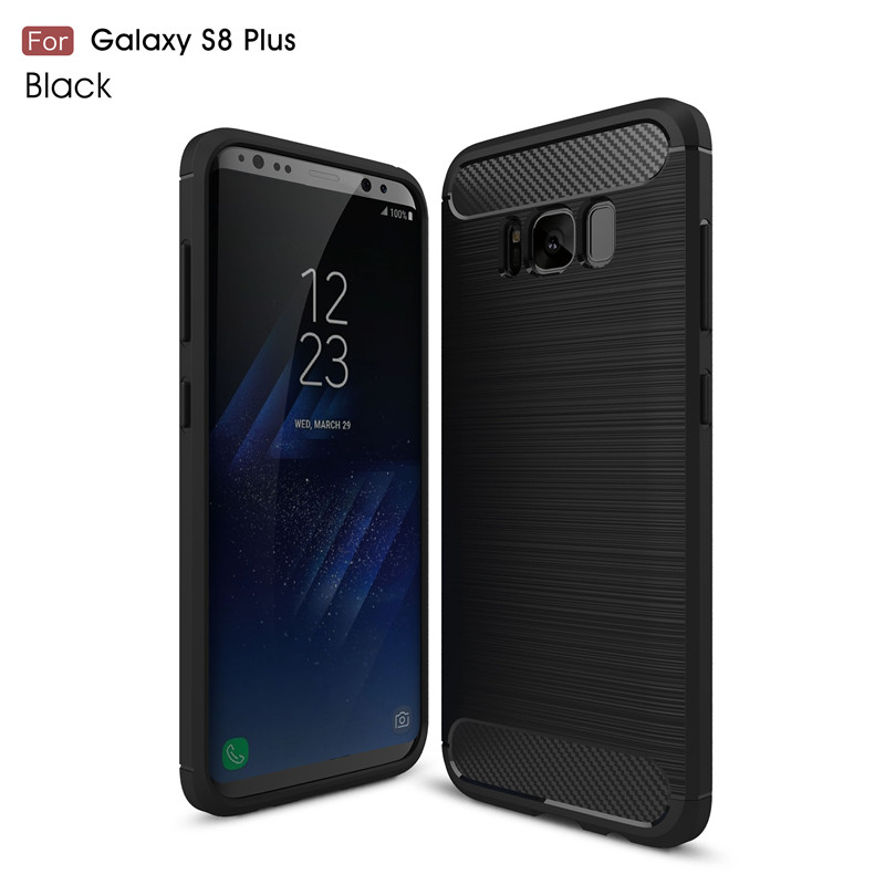 KYKEO Черный Samsung Galaxy S8 Plus ultra slim clear phone cases for samsung galaxy s6