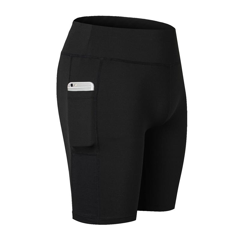 yuerlian Черный XXXL fbf005 female sports shorts