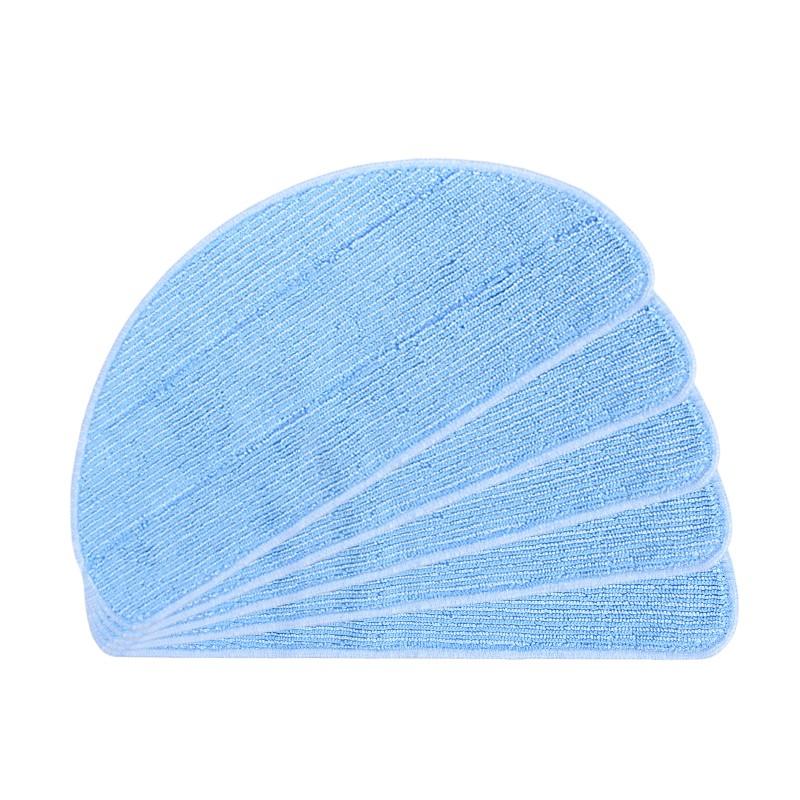 yomekoly черный Китайский стандарт 4 hepa filter 6 side brush 3l 3r kit for ecovacs dibea x500 x580