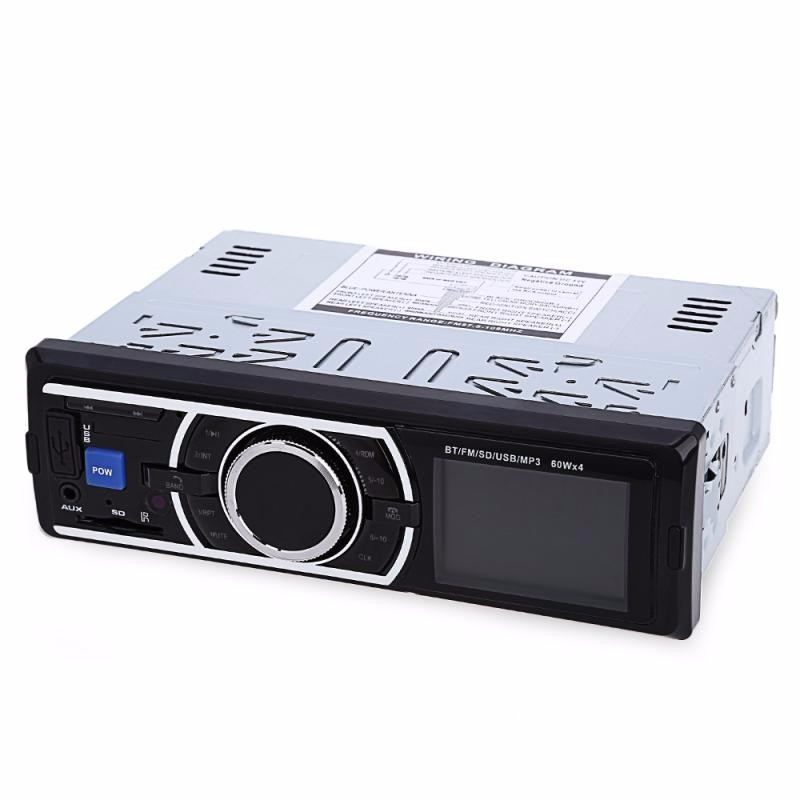 GBTIGER Black auto car stereo in dash fm aux input dvd cd usb mp3 receiver player 2303 feb20