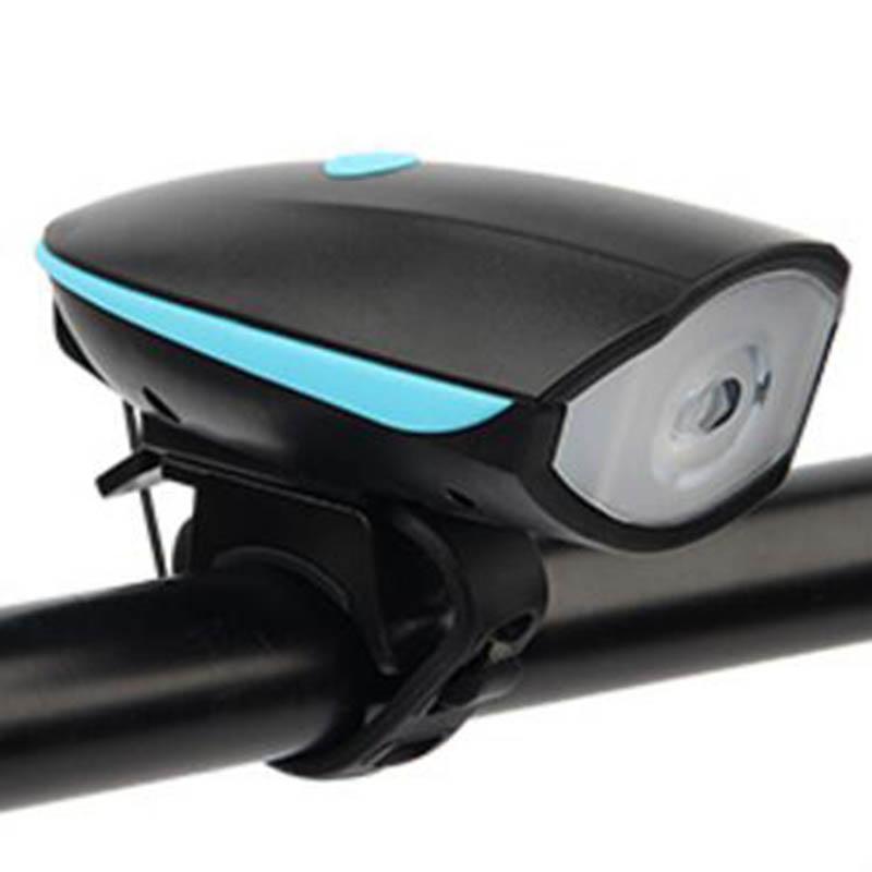 Велосипед фары велосипед колокол велосипед свет велосипед электронный колокол FTW Blue фото