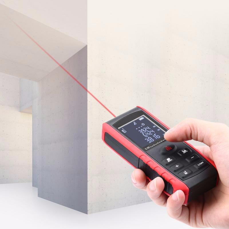 GBTIGER Red 40 высокоточных м ручной цифровой ик лазерный дальномер дальномер