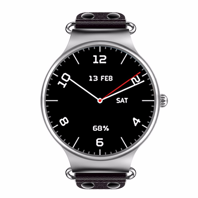 chkj Серебряный 42 мм slimy k98h sim smart watch heart rate monitor smartwatch android 4 4 mtk6572a pedometer bracelet with 3g gps smartwatch stock