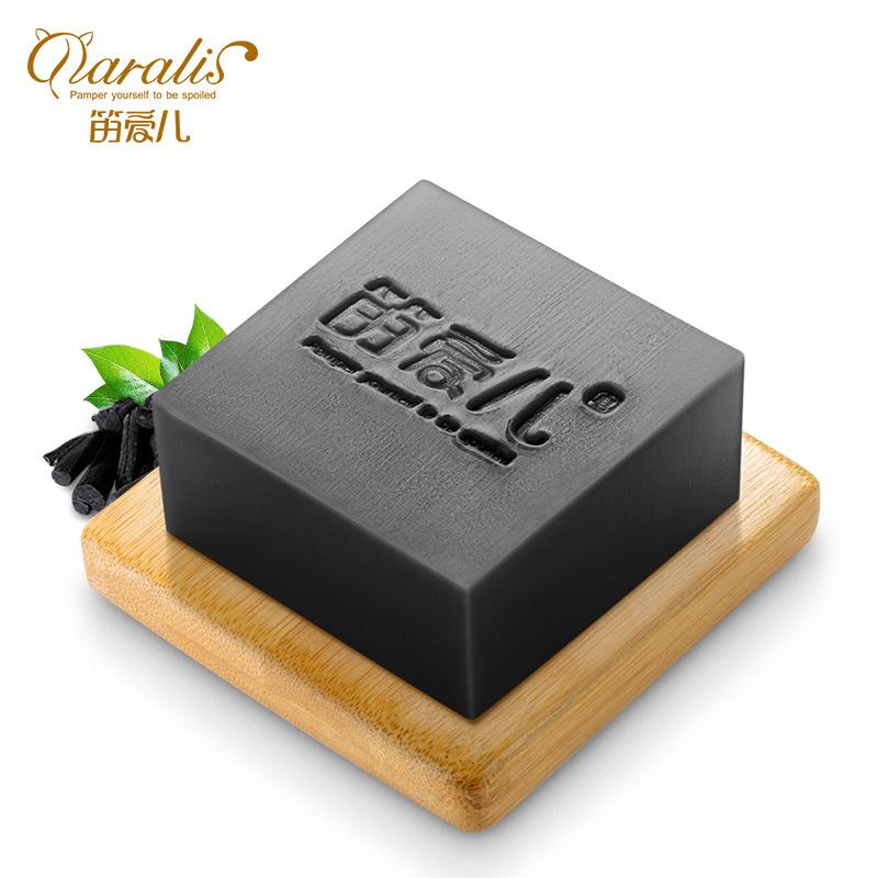 Бамбуковый древесный уголь Ручное мыло Черноголовых Удаление лица Очищающее масло Управление маслом фото