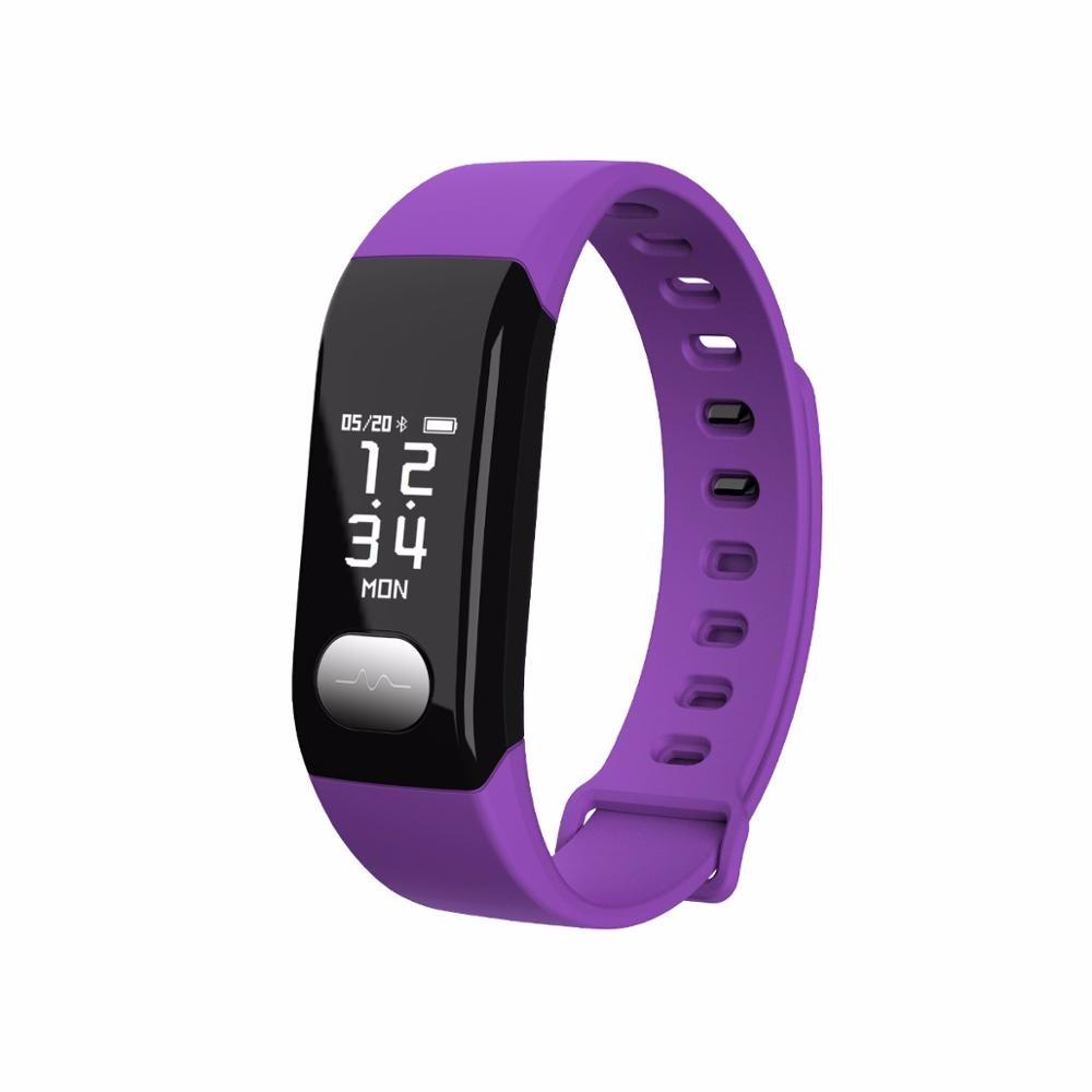 все цены на HRAEFN Пурпурный Смарт-браслет онлайн