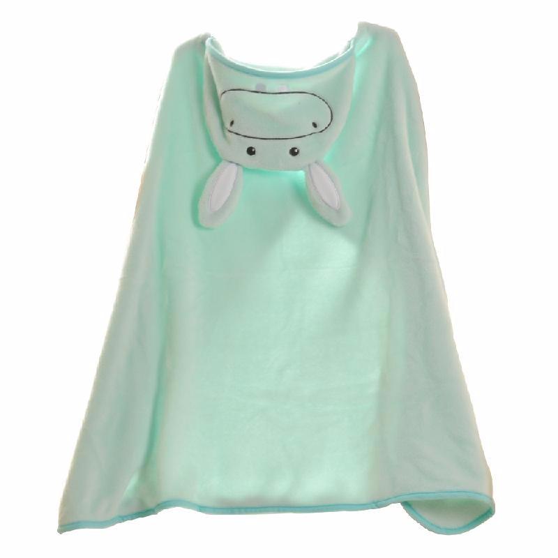 HOMEGEEK Зеленый хлопок эпохи purcotton детей марля одеяло детское постельное белье 135x120cm 1 цзянь дерево зеленый фон белые пятна