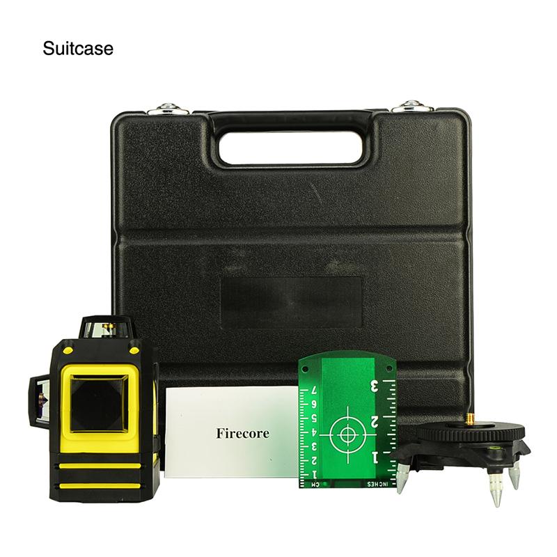 Firecore чемодан пакет 12 линий зеленый лазер