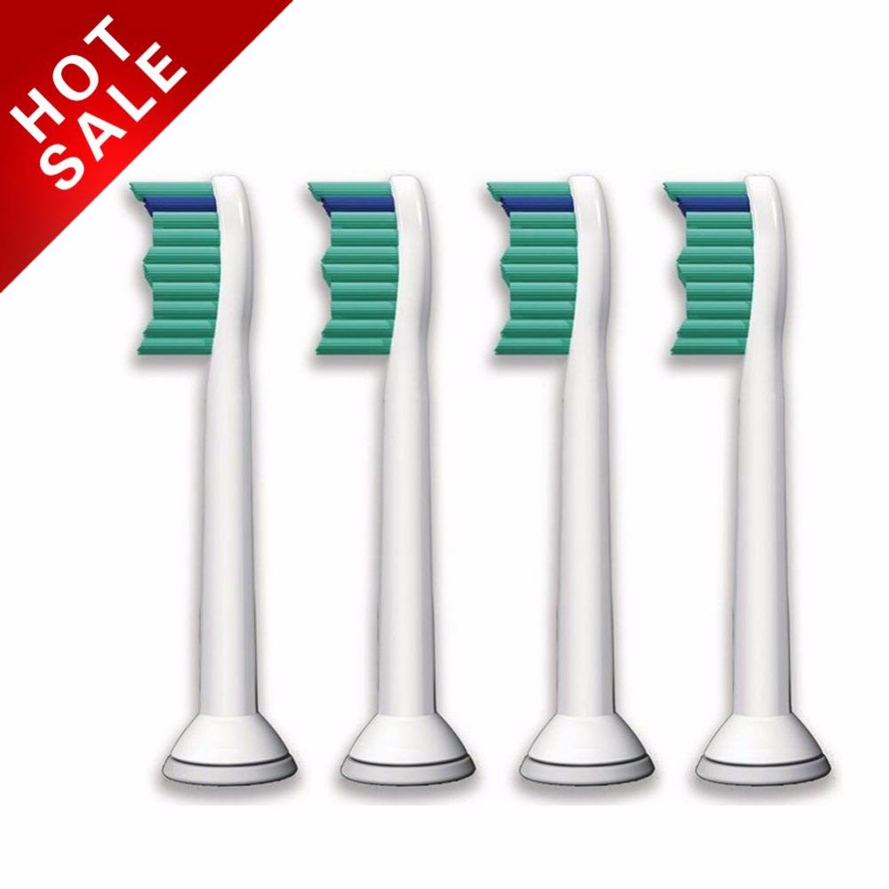 Yincine 4pcs lot replacement toothbrush heads for philips sonicare proresults hx6100 hx6150 hx6411 hx6431 hx6500 hx6511 hx6982 hx9332