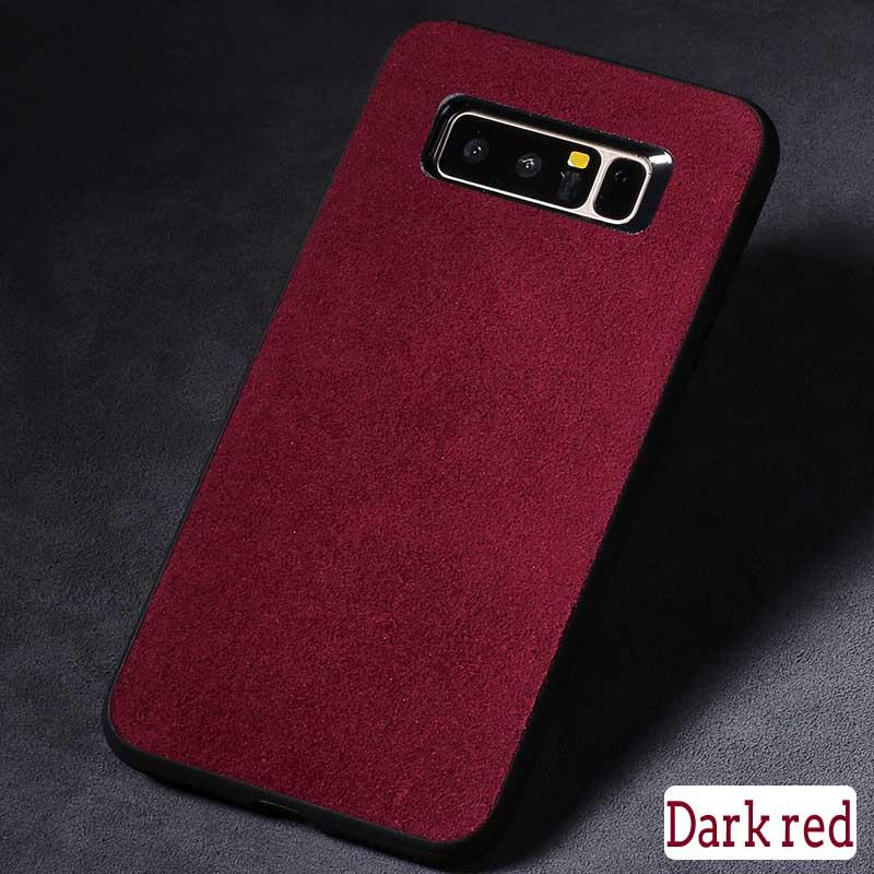 langsidi Красное вино Samsung Galaxy S8 телефон защита жесткого пластика задняя крышка встроенная кожи чехол для samsung galaxy a5 красное облако