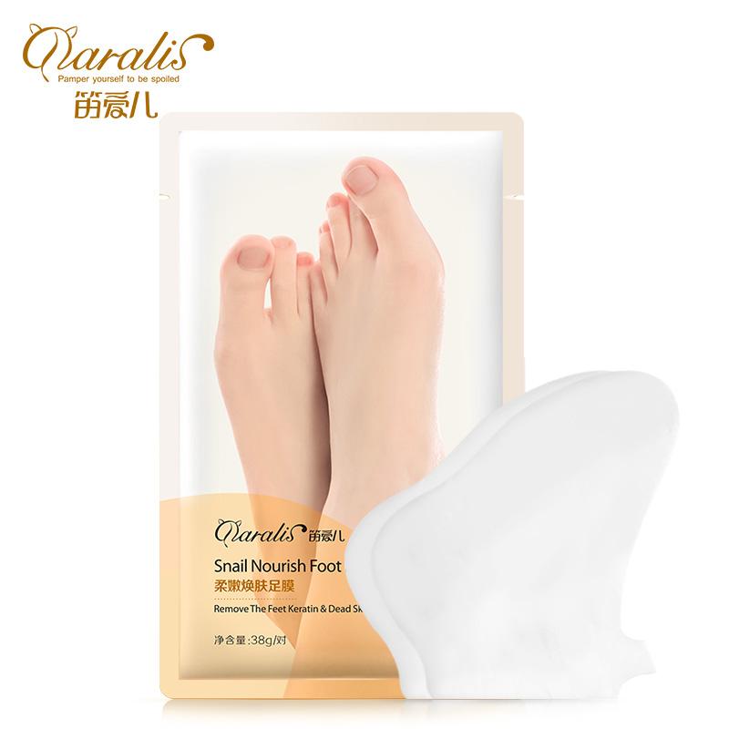 Улитка Питательная маска для ног Маска для ног Очищающая мягкая ножка Пилинг-маска Exfolian фото