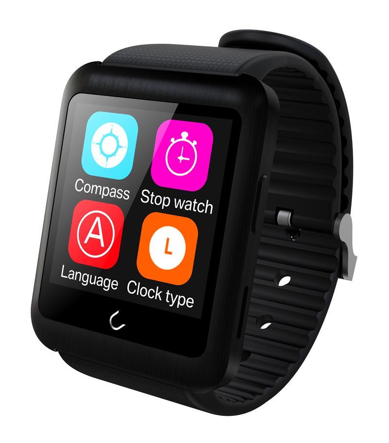 Uwatch Чёрный цвет умные часы kaboson h8 ios