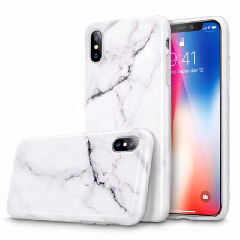 Oak Leaf iPhone X marble pattern iphone case