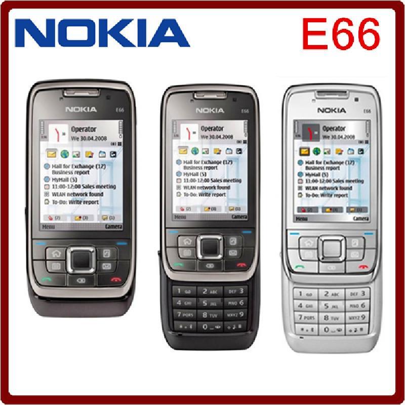 Tissbely Black Оригинальный Nokia E66 Unlocked 3G