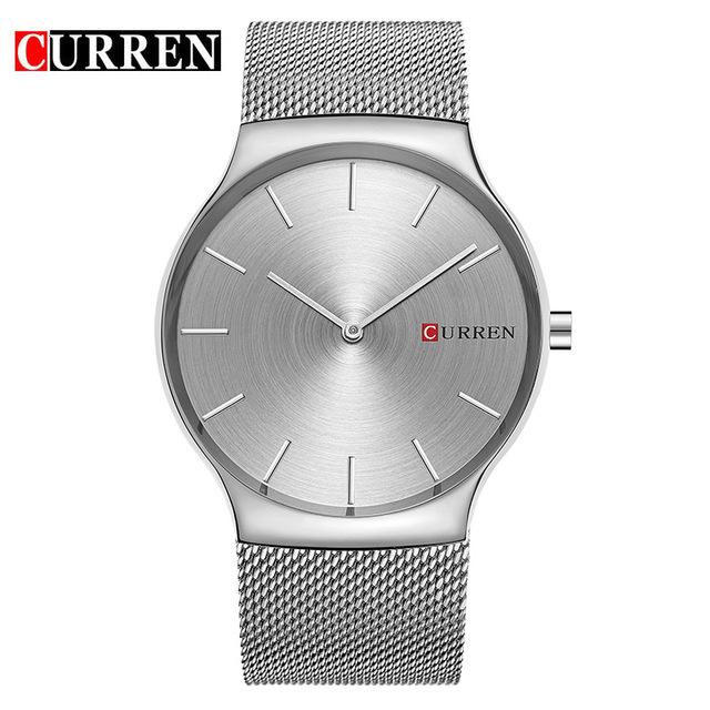 CURREN 04 часы я zhuolun мужские часы 2017 новый простой корейский моды большой набор новый yzl0558th 2