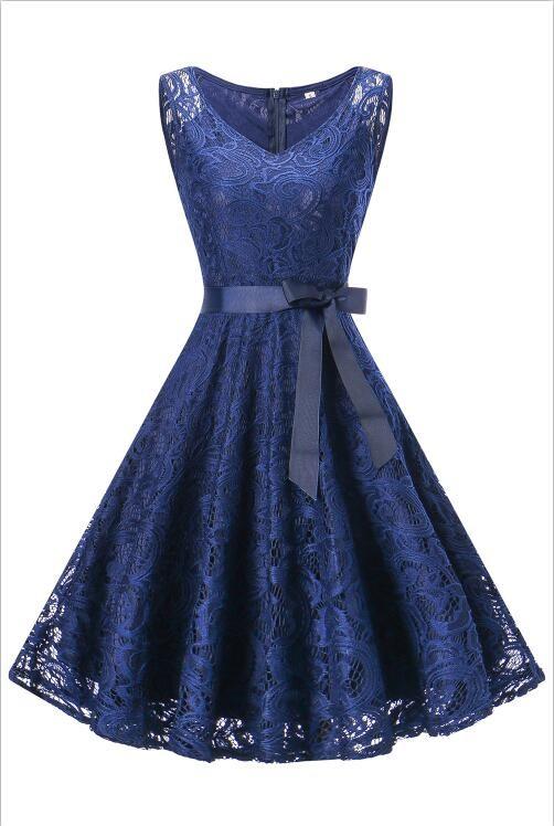 babyonlineDRESS Purplish Blue XL lovely o neck lace flower girl dresses 2018 без рукавов кружева appliques bow belt princess pageant kids prom dress