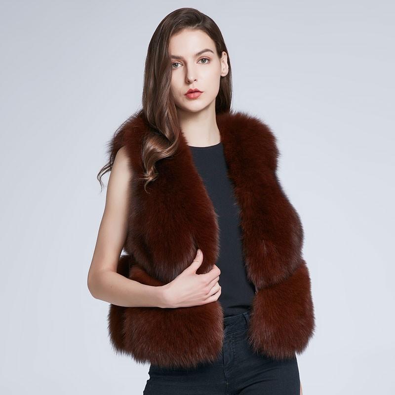 FURART красный XL 2017 осень и зима новые перья хлопка жилет женщин в длинный жилет корейской версии цвета с капюшоном куртки куртки куртки