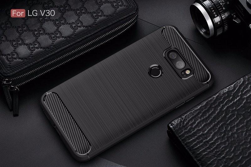 WIERSS черный смартфон lg v30 128gb фиолетовый lgh930ds acisvi