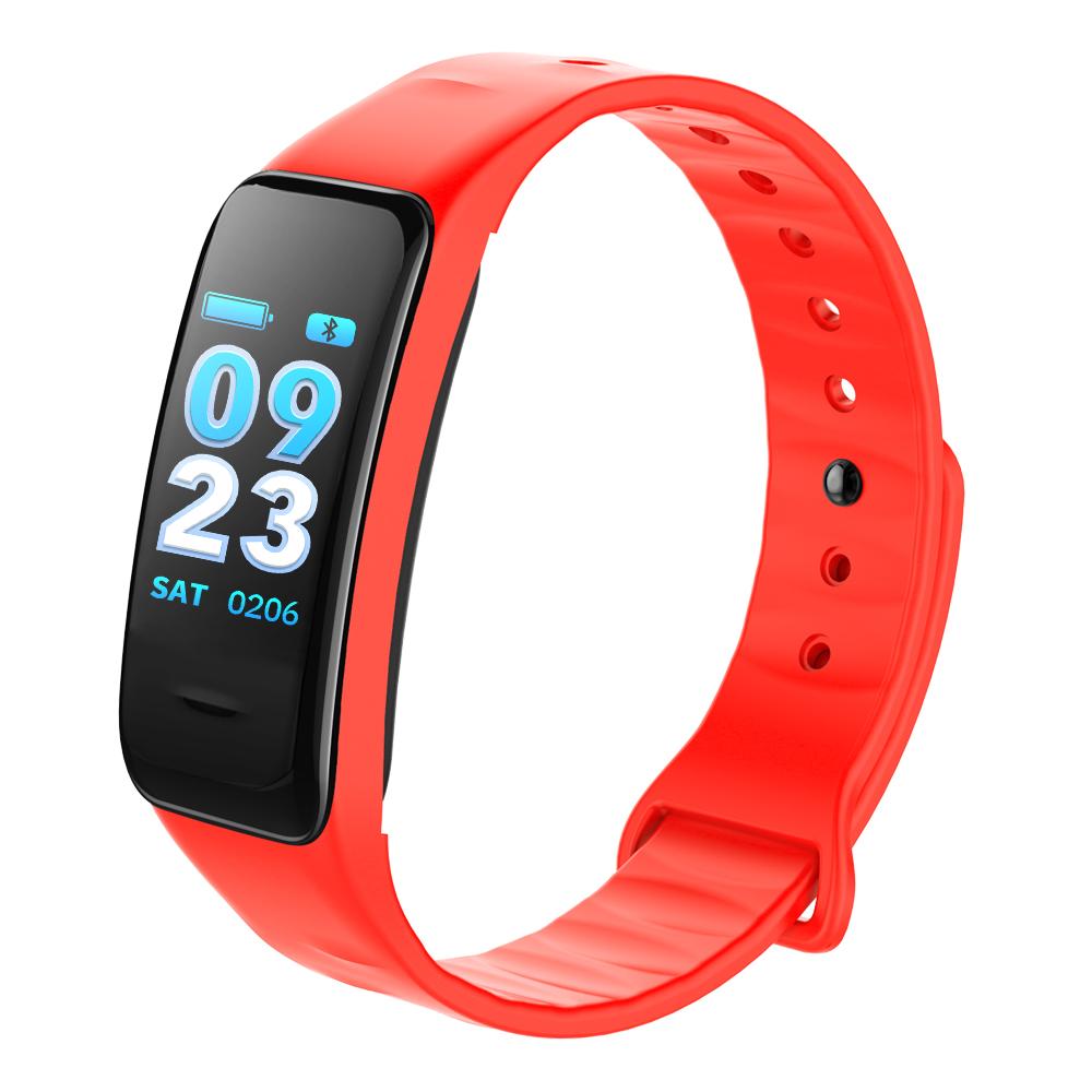 CHIGU красный Смарт-браслет sports men watch smart bracelet fitness tracker heart rate monitor wristband pedometer sleep monitor watch for android phone ios