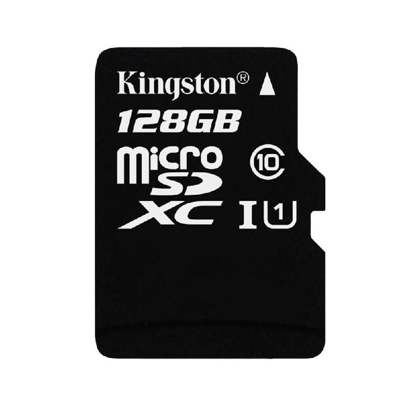 Kingston черный 128GB kingston microsdhc 8gb class 4