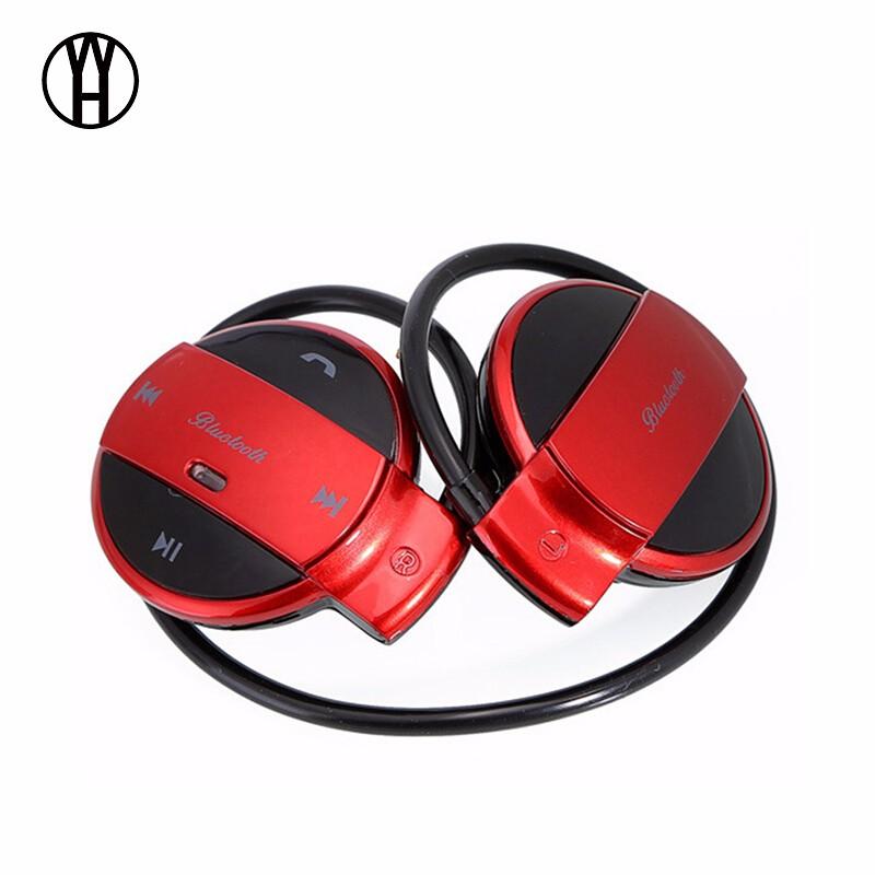 WH Красный wh mini501 bluetooth беспроводные портативные наушники спорт музыка гарнитура hd стерео наушники mic для android ios смартфон