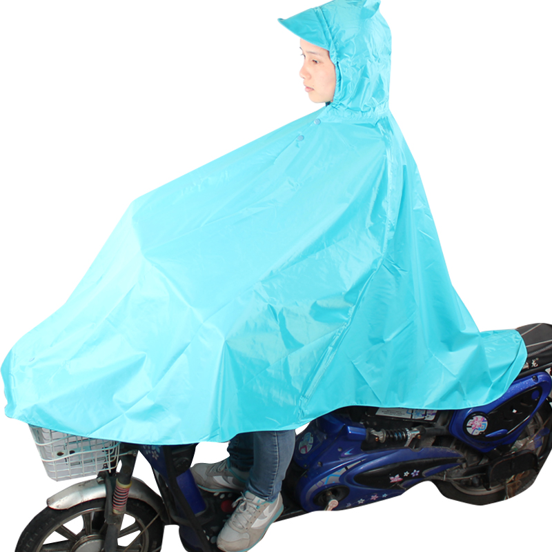 JD Коллекция Голубое озеро дефолт райский зонтик велосипед аккумулятор автомобиля полиэстер шелковый плащ дождь пончо код красный красный n116