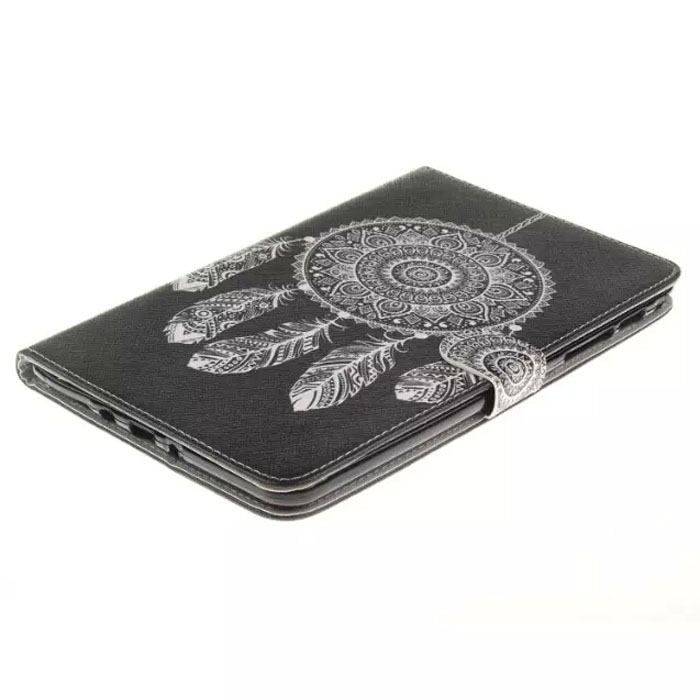 MITI tablet funda case for samsung galaxy tab a 8 0 t350 t351 t355 p350 cover fashion painted flip silicon pu leather shell