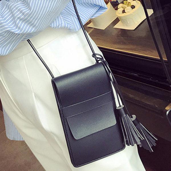 Clothing Loves черный женщины pu кожа сумочкакожаные сумки messenge