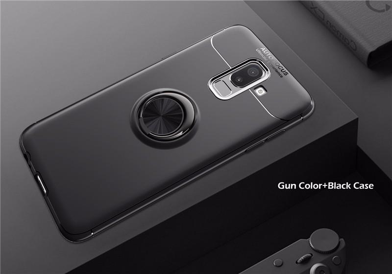 где купить goowiiz Серый черный Samsung Galaxy J8 2018 дешево