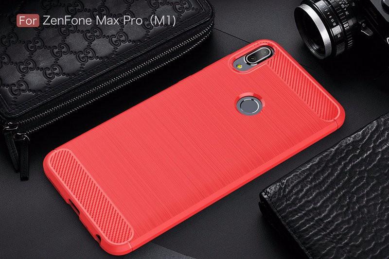 Защитная крышка корпуса для Asus Zenfone Max Pro M1 ZB601KL для Asus Zenfone Max Pro M1 ZB601KL Защитная крышка для телефона для Asus Zenfone Max Pro M1 ZB601KL Корпус из тонкой брони Задняя крышка WIERSS красный для Asus ZB601KL фото