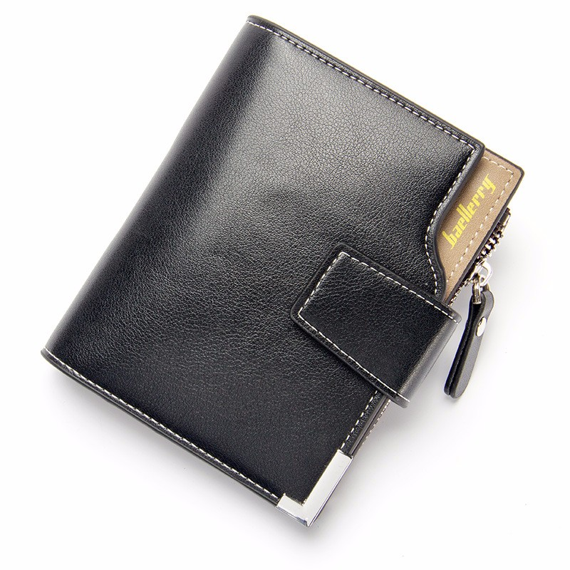 ETONWEAG Black M batman bifold wallet dft 13010