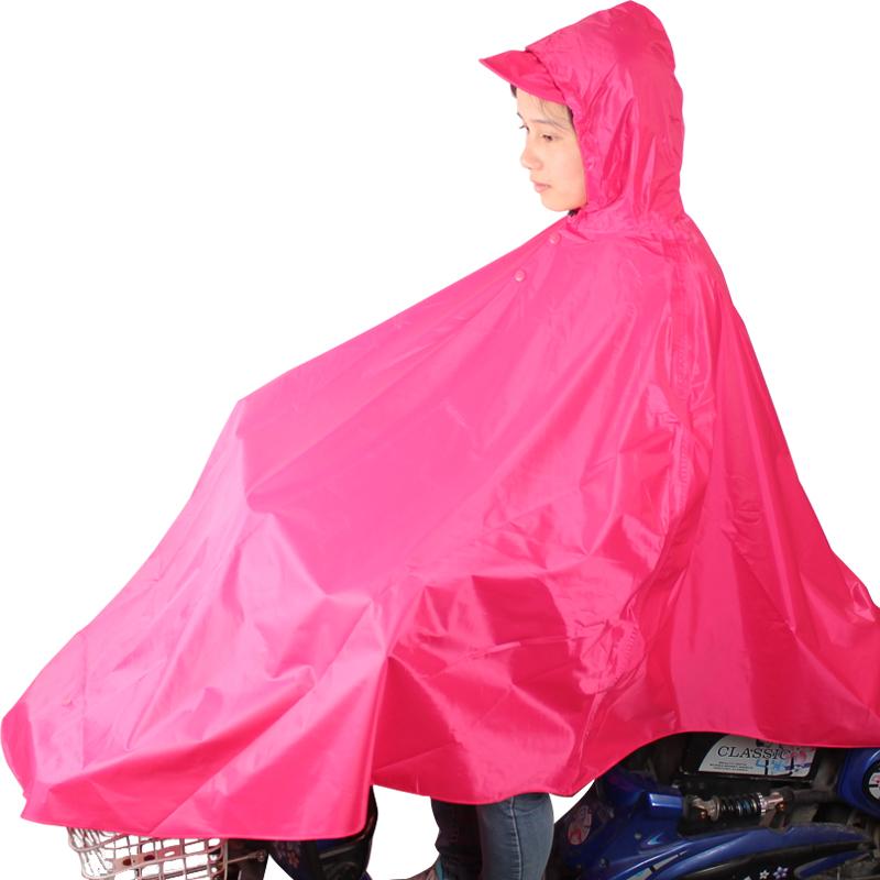 JD Коллекция Shuihong дефолт райский зонтик велосипед аккумулятор автомобиля полиэстер шелковый плащ дождь пончо код красный красный n116