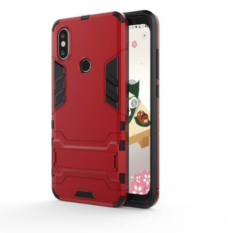 WIERSS красный для Xiaomi Mi A2 Ударопрочный жесткий чехол для телефона