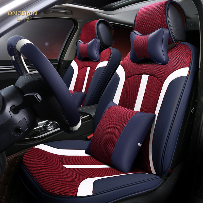 To Your Taste auto accessories Темно-синий Виды спорта kalaisike leather universal car seat covers for honda all models crv xrv odyssey jazz city crosstour civic crider fit accord