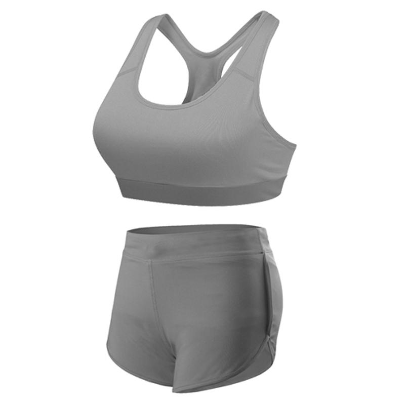 yuerlian Серый L карлос ткань йога брюки дамы открытый спорт работает плотно эластичный фитнес танца брюки cp13507 серый l код