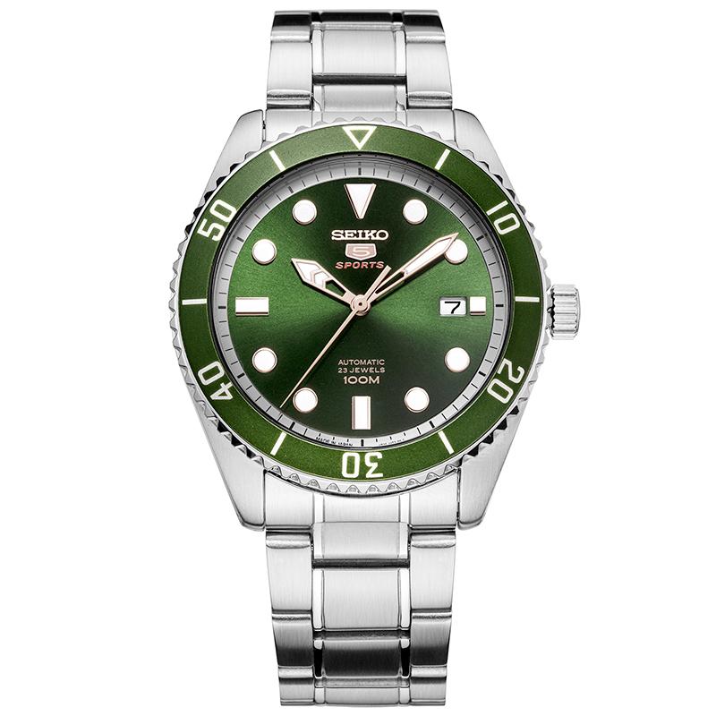 JD Коллекция зеленый дефолт мужские часы seiko ssa341j1