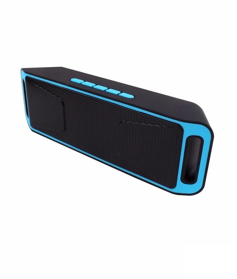 Rigal Светло-синий lesoi f1 portable wireless bluetooth speaker support tf card