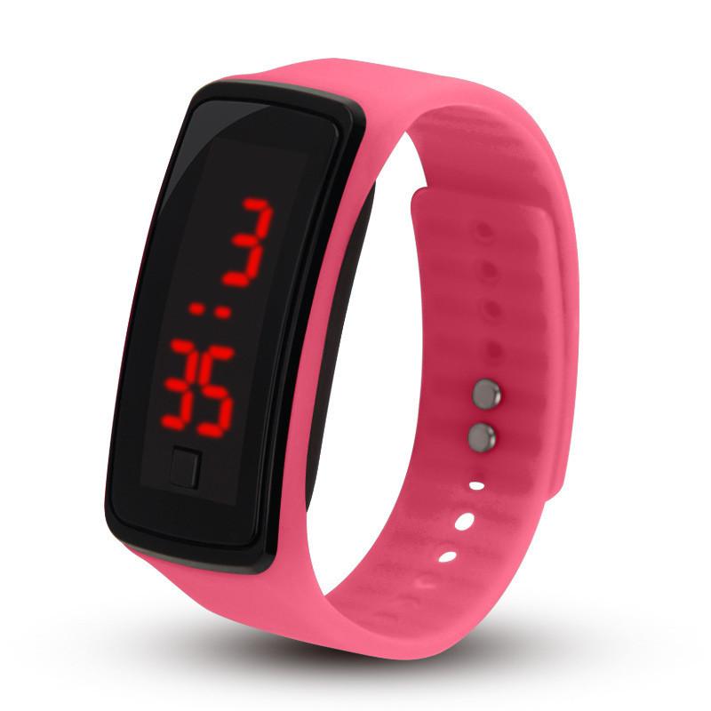 ALEOBONWAY Розовый Смарт-браслет часы наручные ingersoll часы in5010wh
