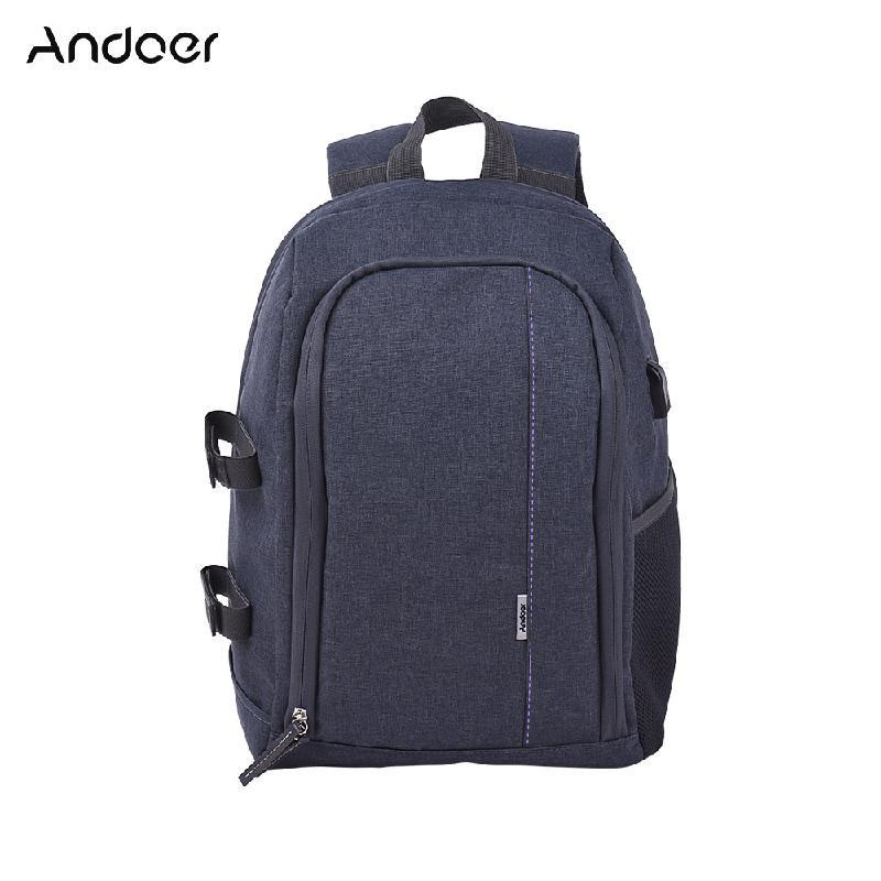ANDOER Пурпурный men backpack anti theft external usb charge port for laptop school bags male