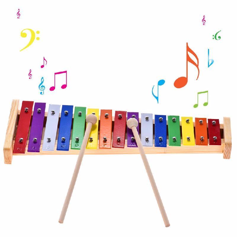 ammoon Смешанный цвет музыкальные инструменты smoby музыкальный инструмент ксилофон