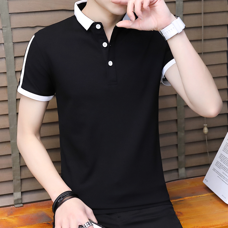 DaMaiZhang Black M мужская футболка поло team polo pocket цвет белый размер 50