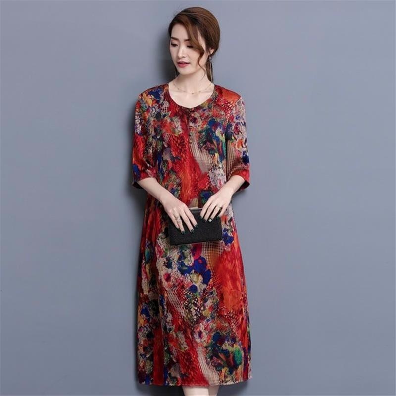 SAKAZY красный XXL платья bonne femme платье