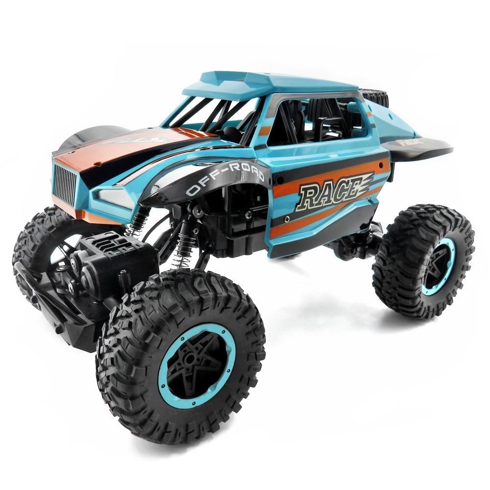 GBTIGER Blue rc car hsp unlimited 1 10 off road vehicle shell 94107pro original car body 10749 no