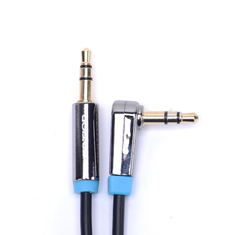 VENTION Чёрный цвет 1 метров vention 3 5 джек мужчина к мужчине аудио кабель 3ft 5ft позолоченный aux кабель 1m 1 5m для samsung iphone 4s 5 5s для ipod