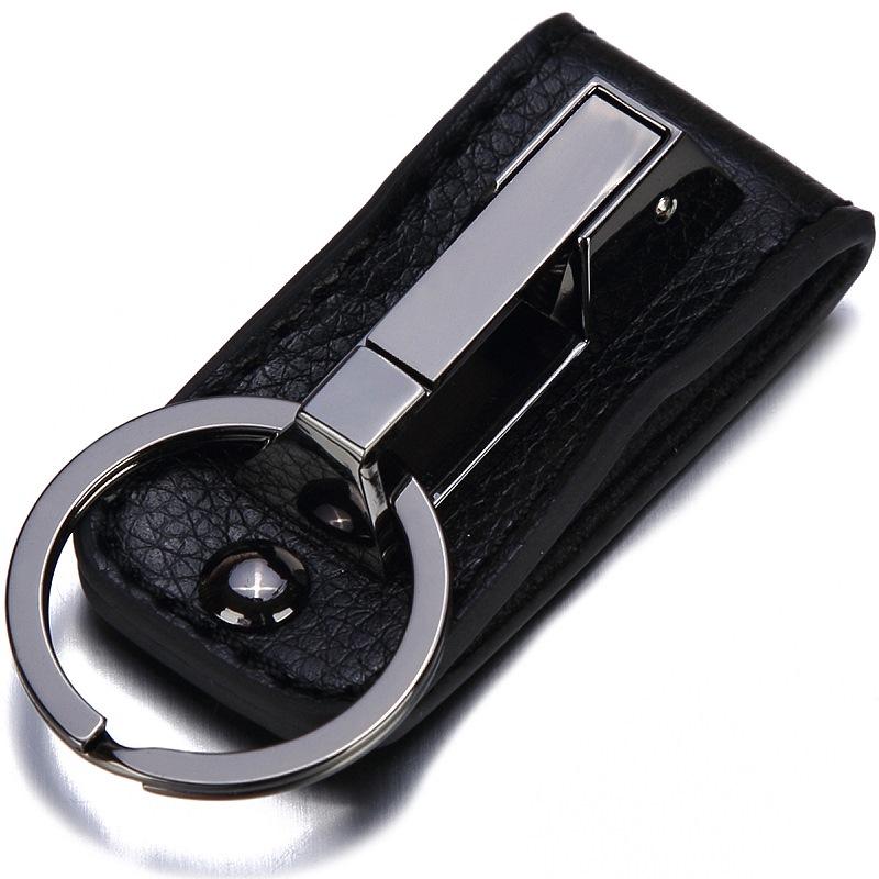 JD Коллекция черный дефолт jobon двойной брелок для ключей брелок для ключей двойной брелок для молнии открытый волокно кожа zb 021g розовое золото