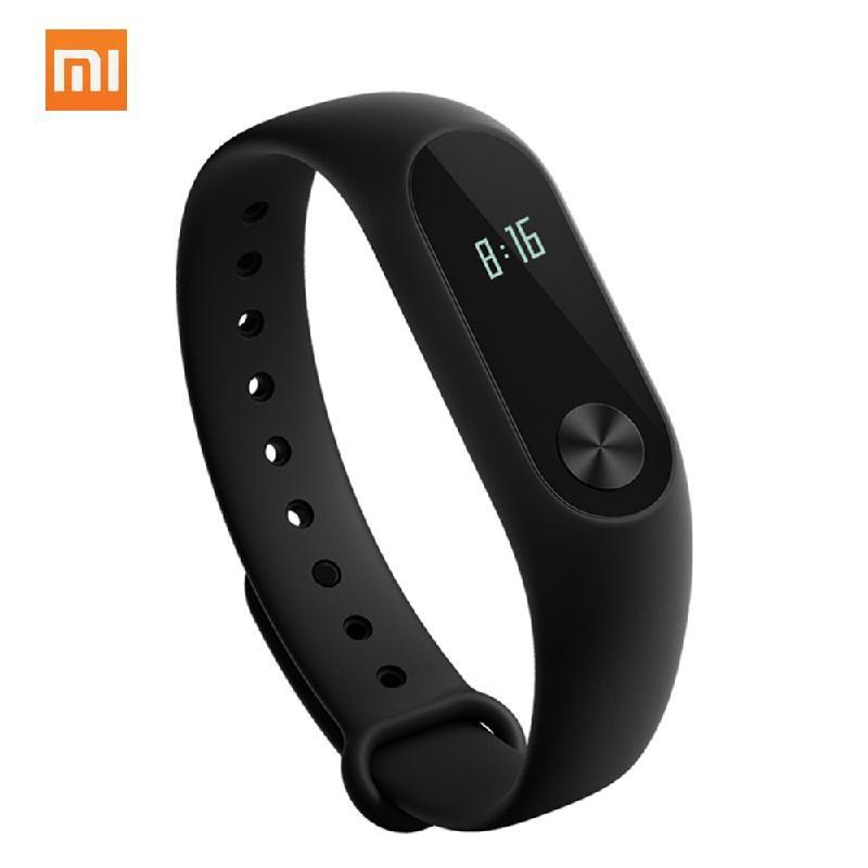 Lenovo Black [официальная глобальная версия] оригинальный xiaomi mi band 2 oled вызов сердечного ритма напомнить ip67 водонепроницаемый смарт браслет для android