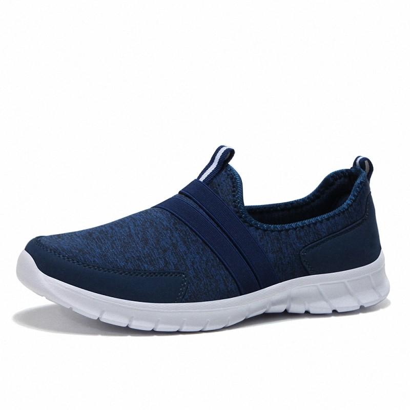 Мужская обувь Легкие кроссовки Dayocra Темно-синий 11 фото